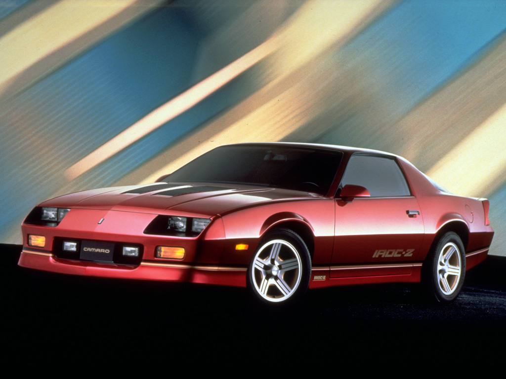 5 chevrolet camaro iroc z wallpapers high quality download