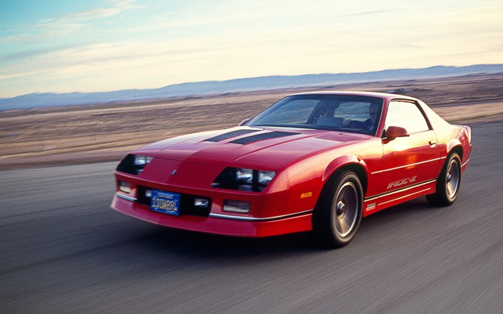 Chevrolet Camaro IROC-Z wallpapers HD