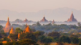 Bagan Myanmar Desktop Wallpaper HQ