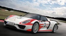 Porsche 918 Spyder Desktop Wallpaper Free