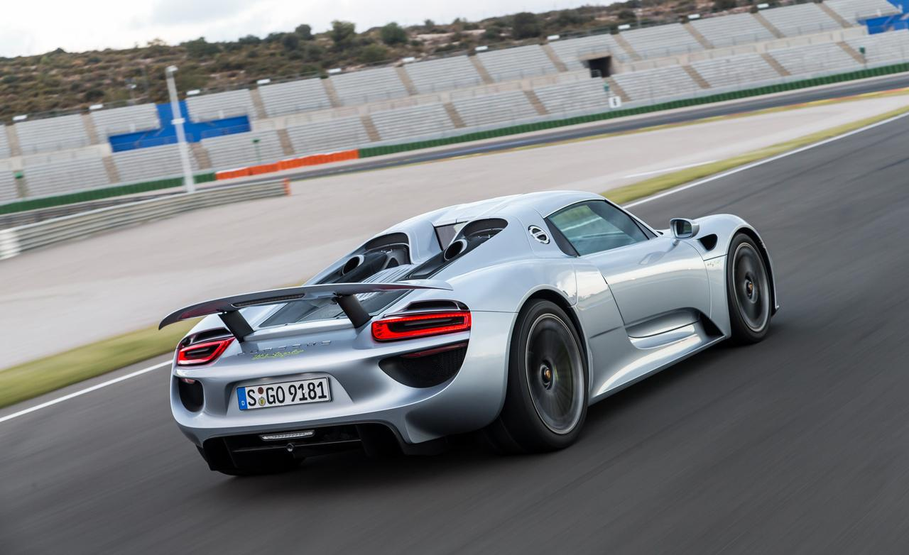 Porsche 918 Spyder Wallpapers High Quality Download Free