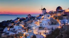 The Island Of Santorini Photo