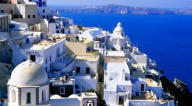 The Island Of Santorini Pics