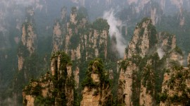 Tianzi Mountain Desktop Background