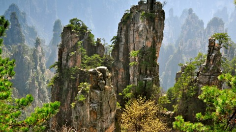 Tianzi Mountain wallpapers high quality
