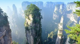 Tianzi Mountain Photo