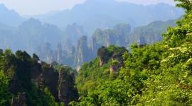 Tianzi Mountain Wallpaper For Desktop