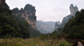 Tianzi Mountain Wallpaper For PC
