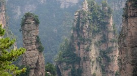 Tianzi Mountain Wallpaper For The Smartphone