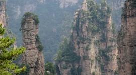Tianzi Mountain Wallpaper For The Smartphone