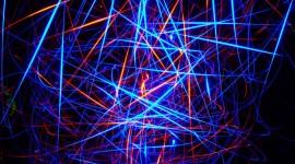 4K Neon Image