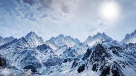 4K Snow Desktop Wallpaper
