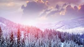4K Snow Wallpaper Widescreen