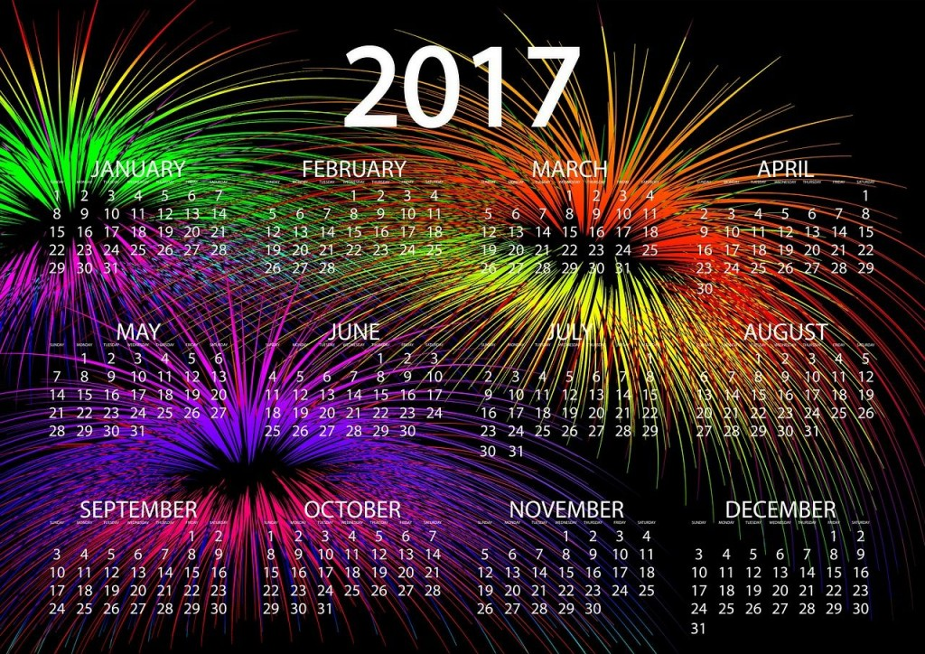 Calendar 2017 wallpapers HD