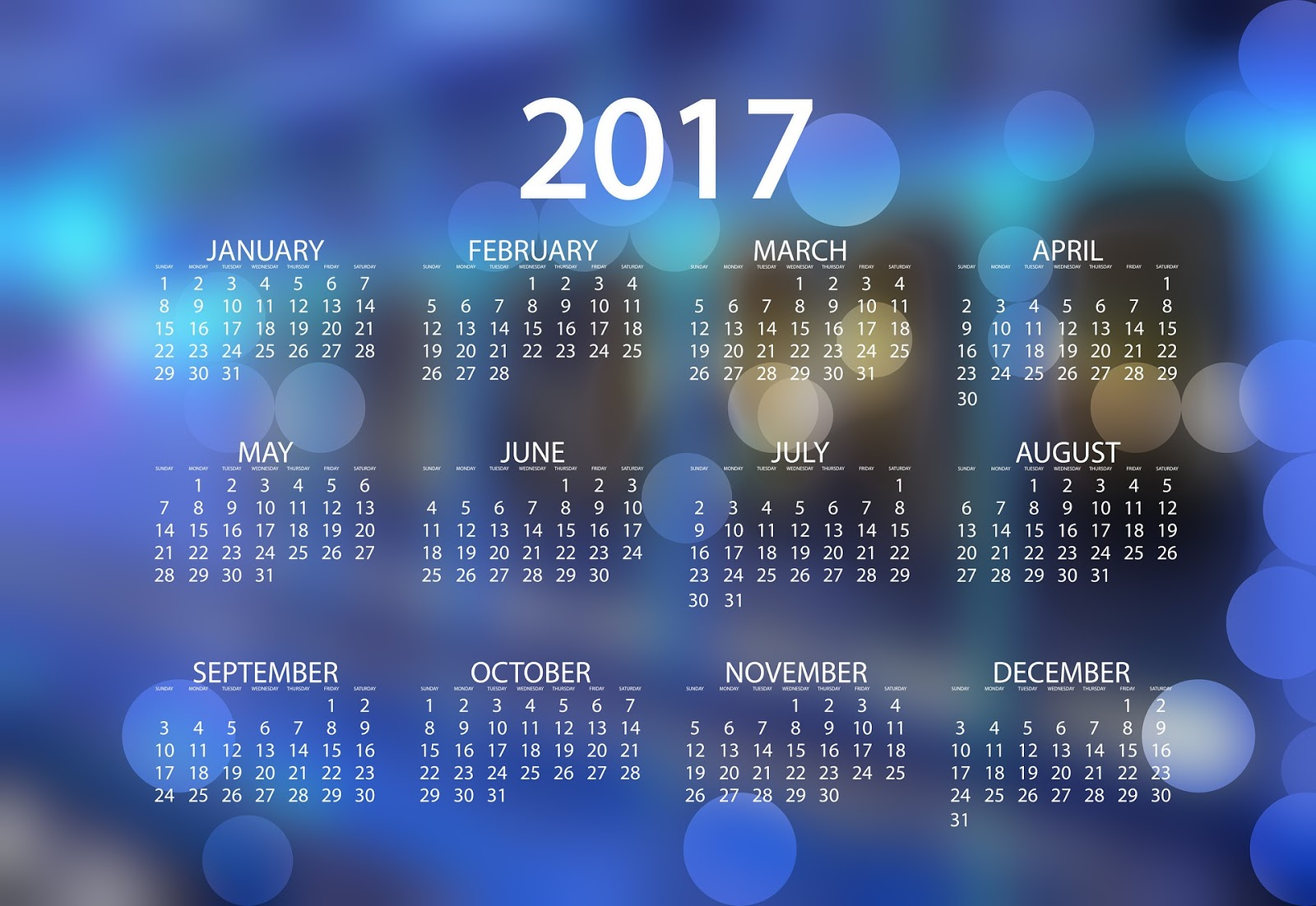 calendar 2017 wallpapers high quality download free. Black Bedroom Furniture Sets. Home Design Ideas