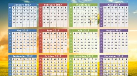 Calendar 2017 Wallpaper Download