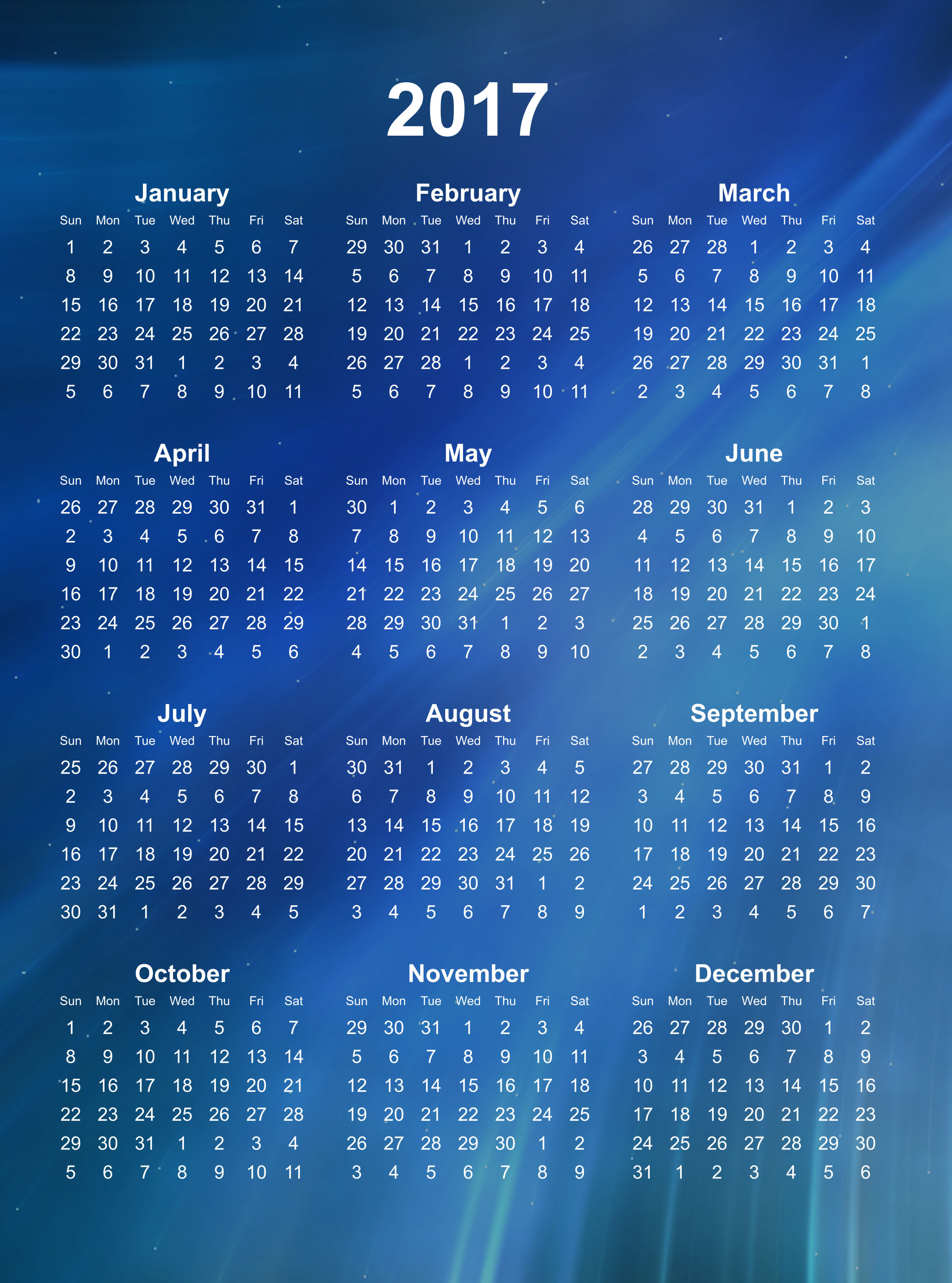 calendar 2017 wallpapers calendar 2017 best wallpaper