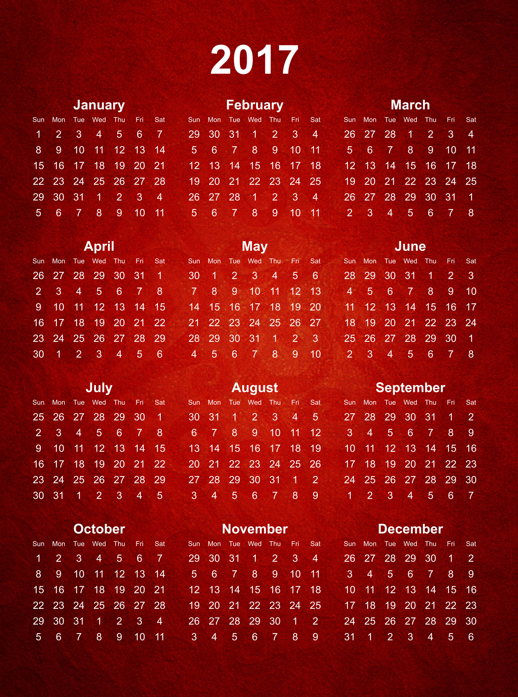 Calendar Wallpaper 2017 : Calendar wallpapers high quality download free