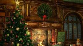 Christmas Art 8k widescreen pictures