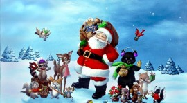 Christmas Art HD 1024 wallpaper