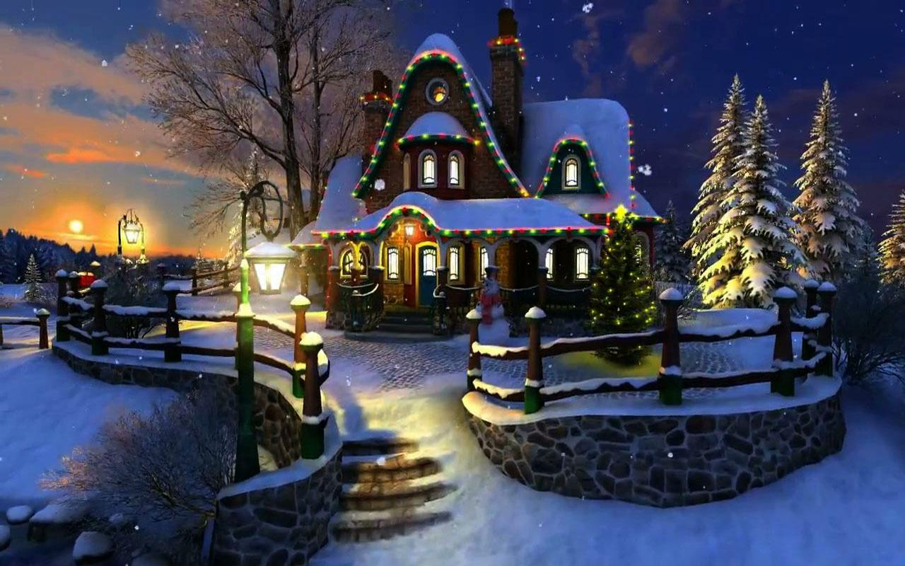 Christmas art wallpapers high quality download free for Screensaver natale 3d