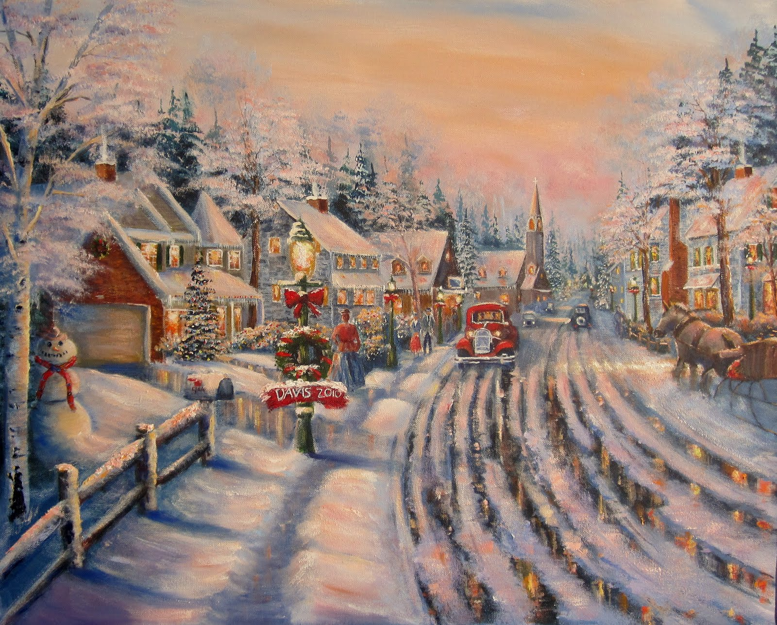 christmas art wallpapers high quality