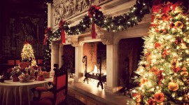 Christmas Fireplace garland ideas luxury pics