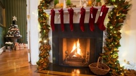 Christmas Fireplace for android