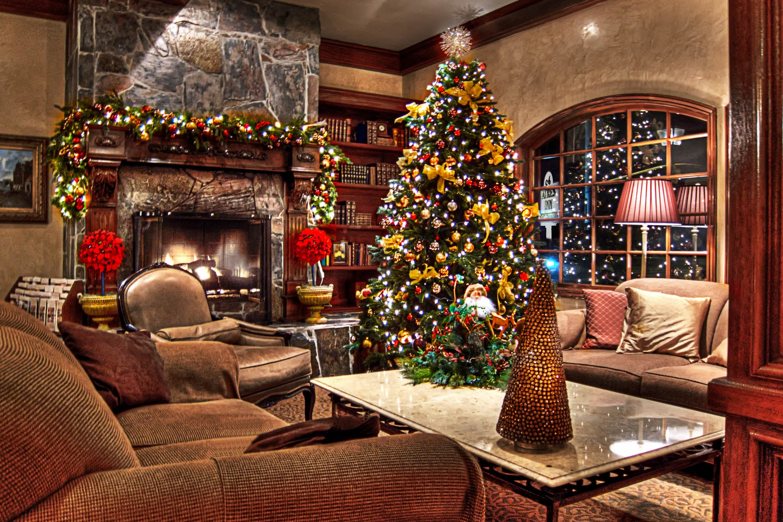 images of country christmas fireplace wallpaper hd sc