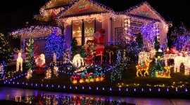 Christmas Garland Photo Download