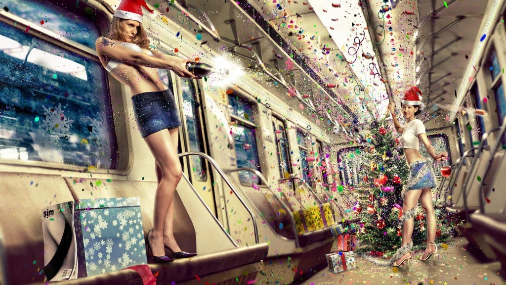 Christmas Girls wallpapers HD