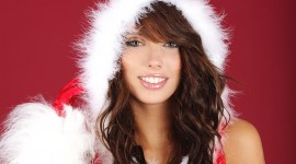 Christmas Girl Photo Ultra HD