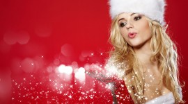Christmas Girl Wallpaper For Android