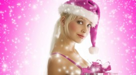 Christmas Girl Wallpaper For IPhone