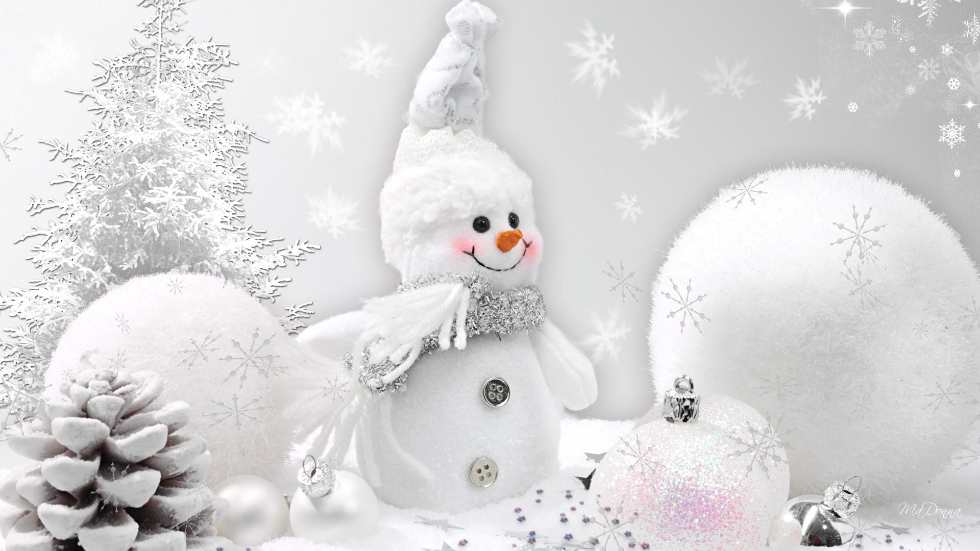 Christmas Snowman Wallpapers High Quality
