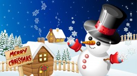 Christmas SnowMan for android