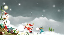 Christmas SnowMan for iphone