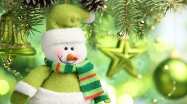 Christmas SnowMan Full HD 1080