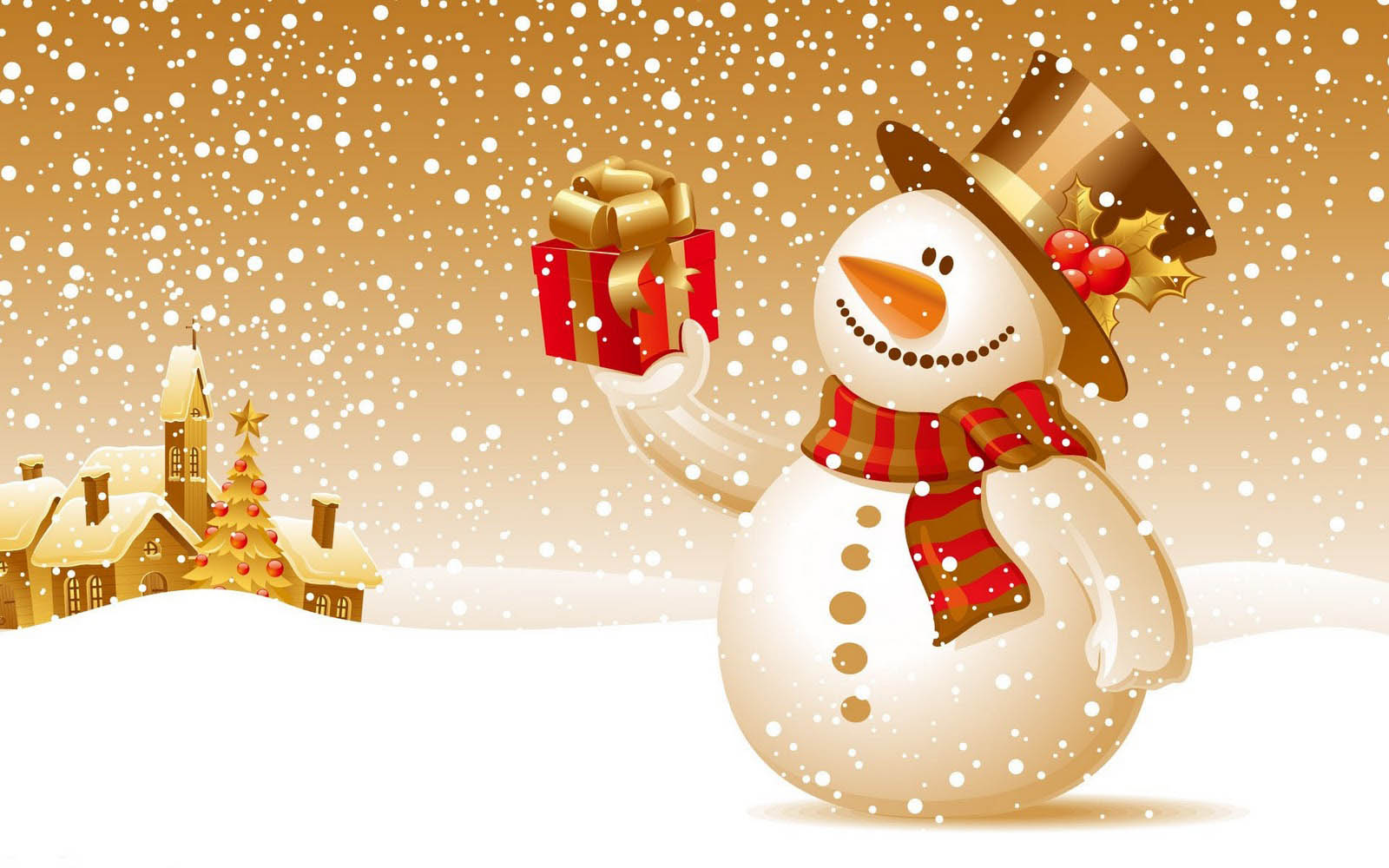 Christmas Snowman Wallpapers High Quality Download Free