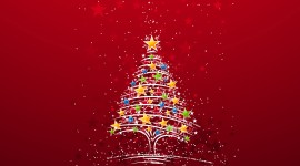 Christmas Tree Desktop Wallpaper For PC