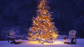 Christmas Tree Desktop Wallpaper HQ