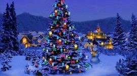 Christmas Tree Wallpaper Download