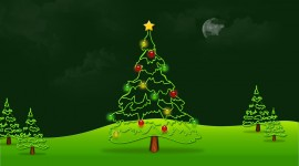 Christmas Tree Wallpaper For Desktop