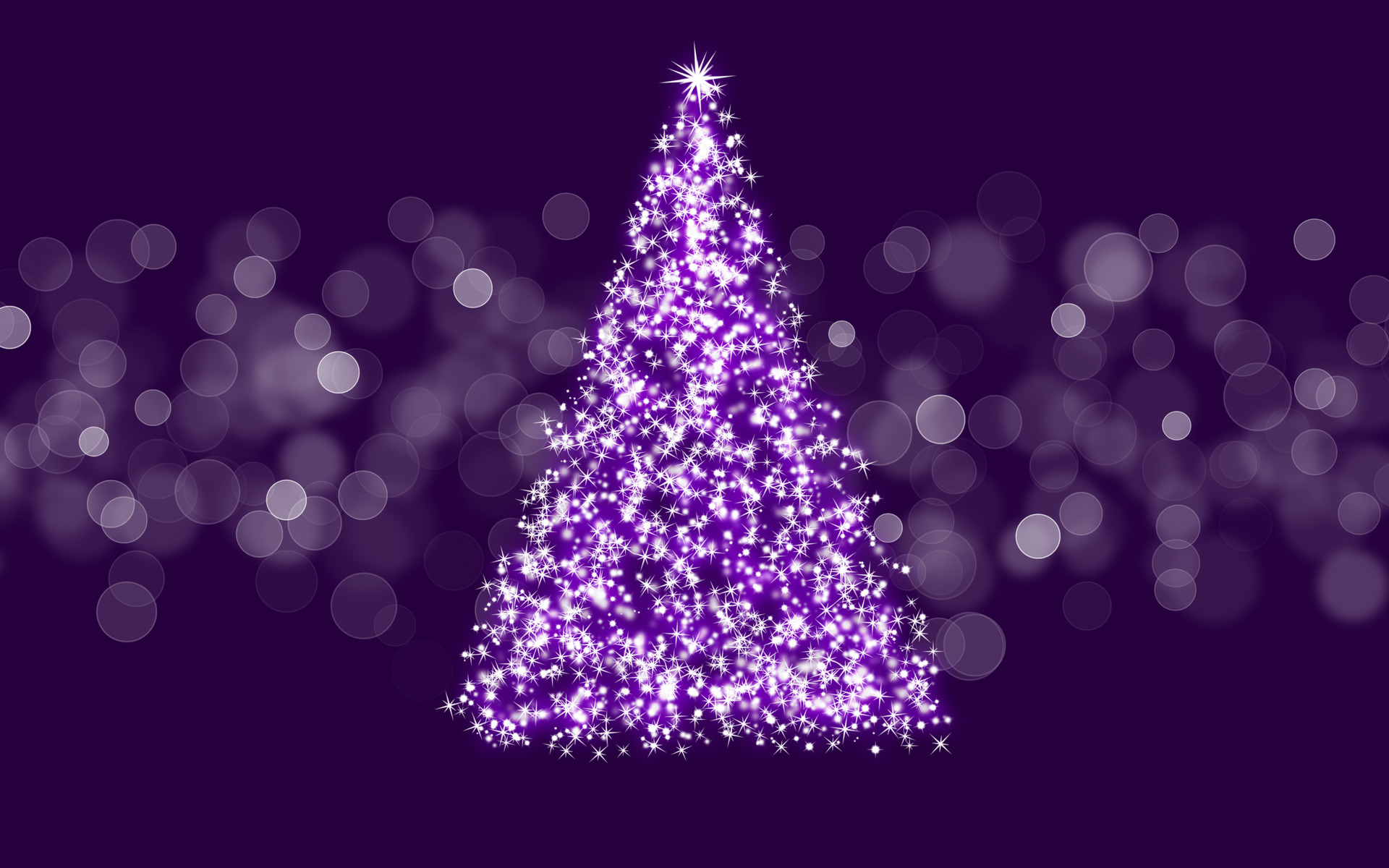 Christmas tree wallpapers high quality download free - Purple christmas desktop wallpaper ...