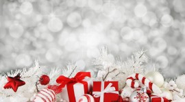 Christmas Business Card widescreen wallpapers