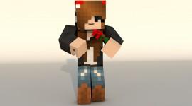 Minecraft Skin Desktop Background