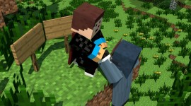 Minecraft Skin Wallpaper #1