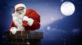 Santa Claus Wallpaper Full HD
