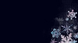 Snowflakes Wallpaper For PC