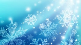 Snowflakes Wallpaper Full HD